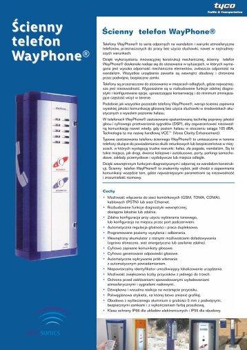 Âcienny telefon WayPhone d