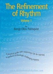 The Refinement of Rhythm, Volume 1 - Inside Music Teaching