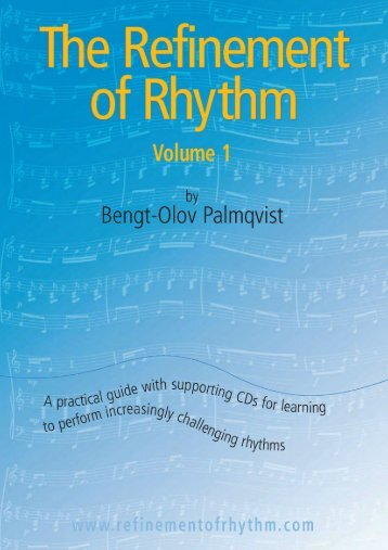 The Refinement of Rhythm, Volume 1 - Inside Music Teaching