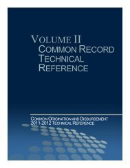 Common Record Technical Reference - FSAdownload.ed.gov - U.S. ...