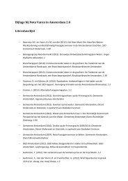 1.2 Literatuurlijst bij Nota Varen in Amsterdam 2.0 - Waternet
