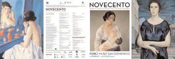Folder mostra Novecento - Fondazionecariforli.it