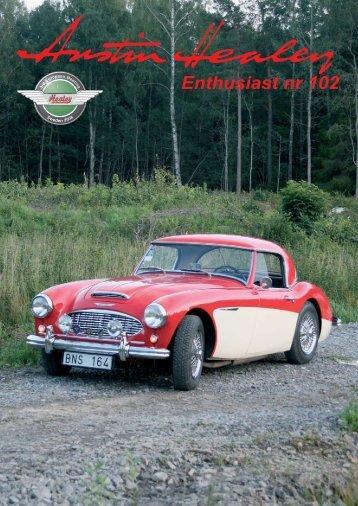 Enthusiast nr 102 - Austin Healey Club Sweden