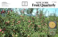 Fruit Quarterly - New York State Horticultural Society