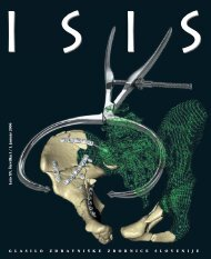 ISIS januar 06.indd - Zdravniška zbornica Slovenije