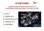 Midest 2010. 2 nov. 14h - CETIM-COBRA Logiciel d'aide au ...