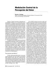 Modulación Central de la Percepción del Dolor