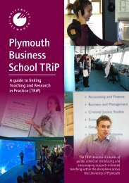RiT booklet Business - Plymouth University