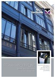 Broschüre FINELINE - RP Technik