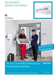 Die ASSA ABLOY Sicherheits-Türschließer ® Der erste Türschließer ...