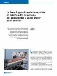 La tecnología alimentaria española se adapta a las ... - Eurocarne