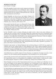 Henryk Pachulski - Dr David Wright