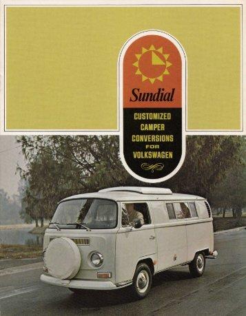 Sundial - Baduras Volkswagen T2-Bulli Seite