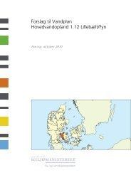 Forslag til Vandplan Hovedvandopland 1.12 Lillebælt/Fyn