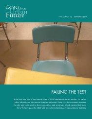 Failing the Test - Center for an Urban Future