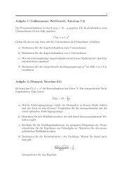 1 Aufgabe 1 (Vollkommener Wettbewerb, Tutorium 7.2) Die ...