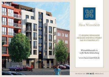 13 moderne wohnungen zwischen ... - Haus Winterfeldt