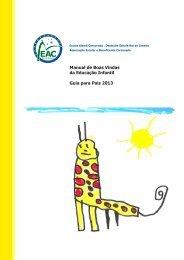 Manual de Boas Vindas da Educação Infantil - Escola Alemã ...