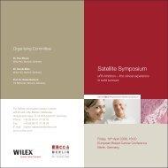 Satellite Symposium - Wilex AG