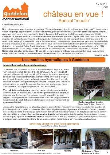 """Château en vue !"" N°28 (PDF - 754 Ko) - Guédelon"