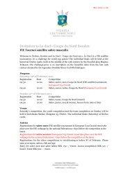 Invitation to Le duel - Coupe du Nord Sweden - European Fencing ...