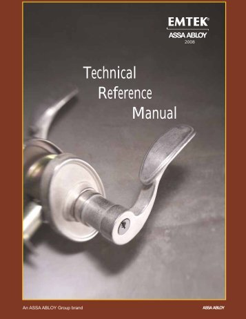 Technical Reference Manual - Emtek