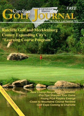 """Ratcliffe Golf and Mecklenburg County Expanding City's """"Learning ..."""