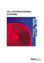 CO2 EXTINGUISHING SYSTEMS