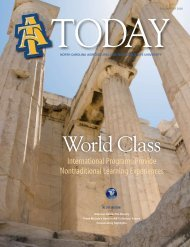 World Class - North Carolina Agricultural and Technical State ...