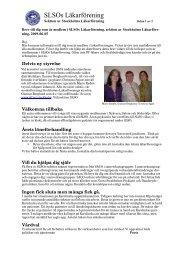Medlemsbrev SLSO 2009-06-05