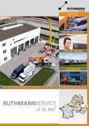 Servicebroschüre - Ruthmann