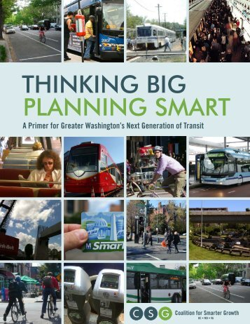 Thinking Big, Planning Smart: A Primer for Greater Washington's ...