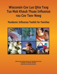 Pandemic Influenza Toolkit for Families - Hmong - Wisconsin ...