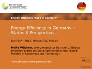 Energy Efficiency in Buildings - AHK Mexiko