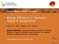 Energy Efficiency in Buildings - AHK Mexiko