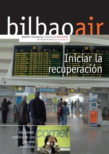 Iniciar la recuperación - Bilbao Air