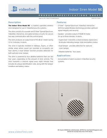 05 INDOOR SIREN_specifications sheet.pdf