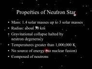 Properties of Neutron Star