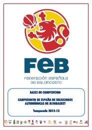 MINI 12/13 - Federación Española de Baloncesto