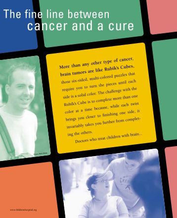 cancer and a cure - Children's Hospital Boston