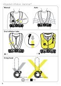 150N & 275N Automatic Lifejacket with integral Deck Harness - Page 6