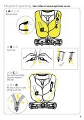 150N & 275N Automatic Lifejacket with integral Deck Harness - Page 7