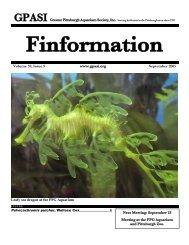 September - Greater Pittsburgh Aquarium Society