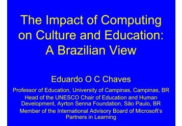 A Brazilian View - CITE