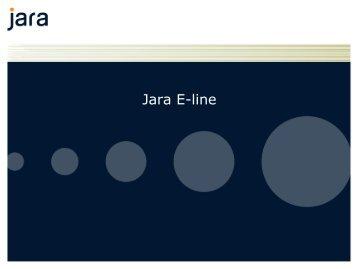 Presentasjon E-Line - Jara - Telenor