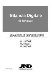 Bilancia Digitale