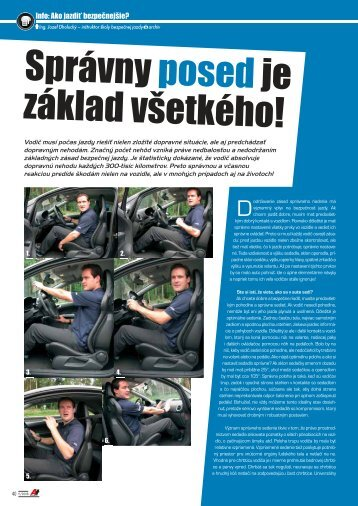 Správny posedje základ všetkého! - AutoTuning.sk