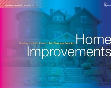 2012 Annual Report - Huckleberry House