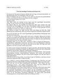 Über das unbedingte Entstehen des Kunstwerkes - Hansjörg Wagner
