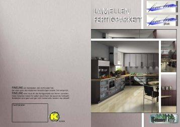 FERTIGPARKETT LAMELLEN - Kohler Parkett